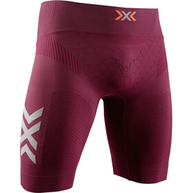 X-Bionic Twyce G2 Run Shorts Herre namib red/dolomite grey